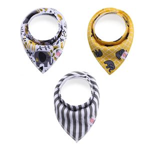 3IN1 Bandana bibs - jungle animal