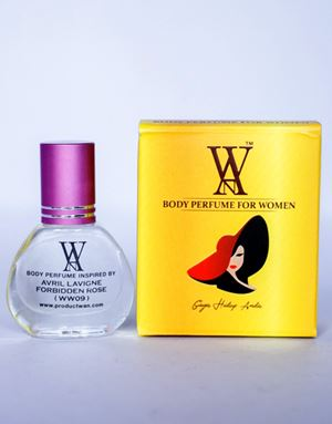 WAN BODY PERFUME- (WW09) AVRIL LAVIGNE FORBIDDEN ROSE