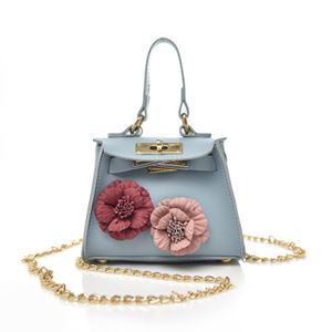 BERK ROSE SLING KIDS HANDBAGS (SOFT BLUE)