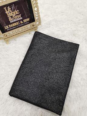 PLAIN GLITTER BLACK 1906072