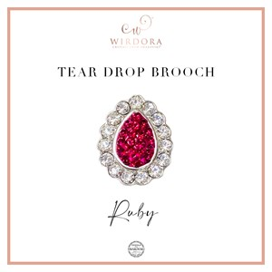 Brooch Inara (Limited Edition) - Ruby