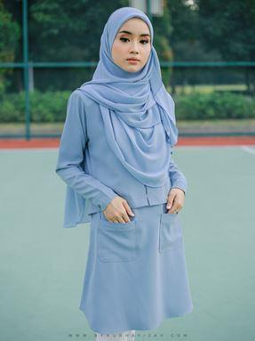 Ezy blouse (sky blue)