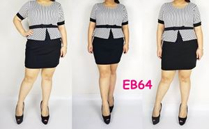 EB64 *Bust 38-46 inches (96-116CM)