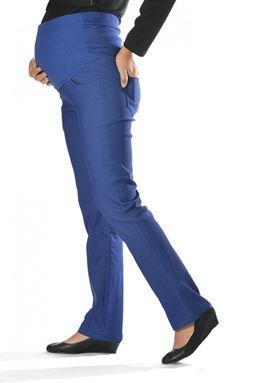 Maternity Straight Pant Mi - Lapis Blue