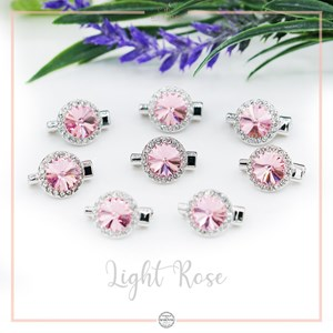 Brooch Rivoli Luxe Light Rose