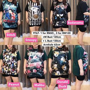 9T67 Ready Stock *Bust 120&130 cm