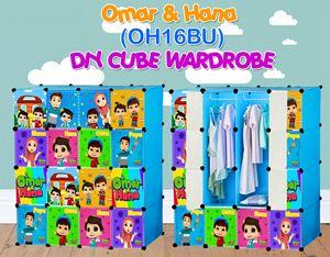 Omar & Hana BLUE 16C DIY WARDROBE (OH16BU)