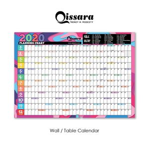 2020 Planning Chart (A3 size) *INTRO PRICE*