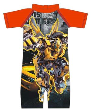 Swimming Suit - Transformer Bumblebee