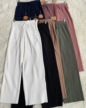 Baity pleated pants