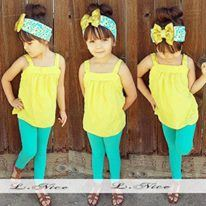 LN37 L.NICE YELLOW 2pcs SET