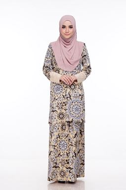 Baju Kurung Melissa (KM101) - Size L, xl and 2xl sold out, others available