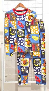 SIZE XL  DEWASA Pyjamas TOM AND JERRY CHEESE MIX (HELAL)
