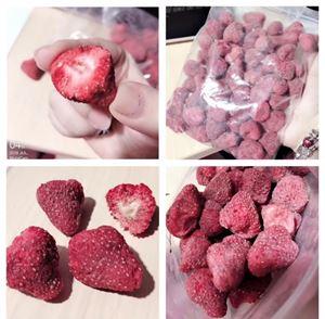Ready Stock 🍓🇰🇷 Korea Grandfather Frozen dried Strawberry (180g) 🍓🇰🇷韩国老爷爷冷冻草莓干