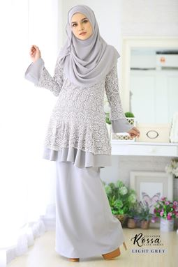 ROSSA LACE - GREY