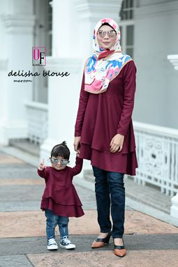 DELISHA BLOUSE GEGIRL