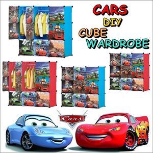 CARS DIY CUBE WARDROBE