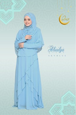 JUBAH ALRADYA (SKY BLUE)