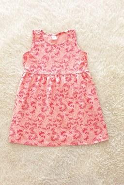 Kids Dress BUTTERFLY PINK : (1y - 6y) TW