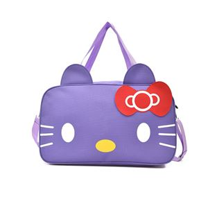 HELLO KITTY TRAVELING BAG ( PURPLE  ).