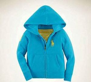 Children Hoodie Jacket Sweater - Blue