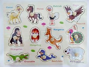 ET57- WOODEN PUZZLE ANIMALS