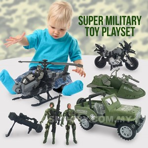 SUPER MILITARY TOY PLAYSET