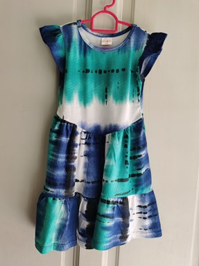 Princess Dress V2 : TIE DYE size 4-6