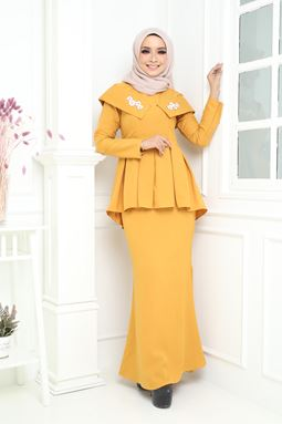 ISABEL KURUNG - YELLOW MUSTARD