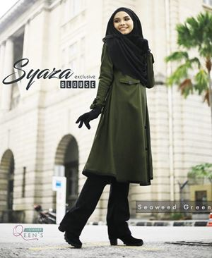 SYAZA EXCLUSIVE ( Seaweed Green )