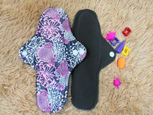 Cloth Pad - Floral ( Be Gentle)  Size M