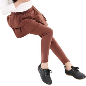 BROWN MARRA SKIRT LEGGING