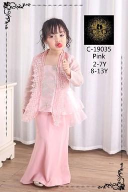 19035  CFO  BAJU RAYA 2020  ( SIZE 2-7Y )  PINK