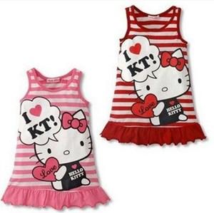 Sleevesless Hello Kitty Dress