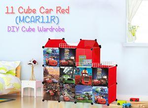 MINI Car Red 11C DIY Cube (MCAR11R)