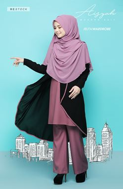 AISYAH SUIT 06 (DUSTY PURPLE)