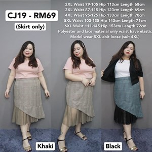 CJ19 Ready Stock * Waist 79-145cm