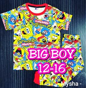 Pyjamas SPONGEBOB YELLOW :  Big Size 14