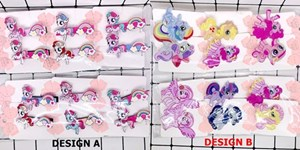 KIDS CARTOON HAIR ACCESSORIES ( UNICORN )