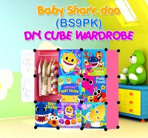 Baby Shark Doo PINK 9C DIY WARDROBE (BS9PK)