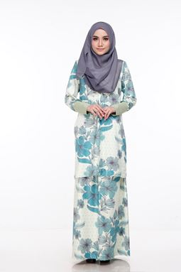 Baju Kurung Melissa (KM110) - size S and 2xl sold out, others available