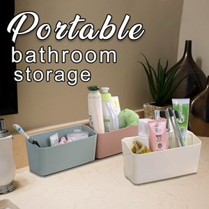 PORTABLE BATHROOM STORAGE