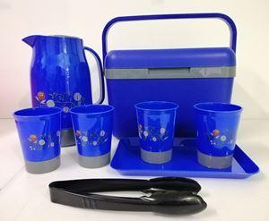 PICNIC BOX 8PCS  -  BLUE