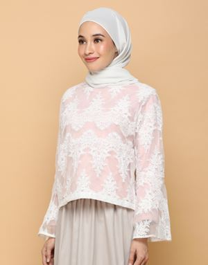 CELIA CROWN LACE TOP