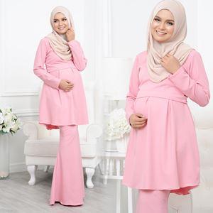 Alarra Kurung - Dusty Pink