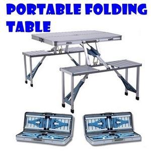 PORTABLE FOLDING TABLE N00609