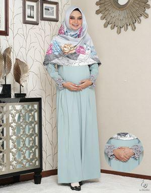 Siti Aafiyah Dress : Mint Green