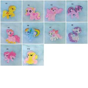 My Little Pony Acrylic Hair Clip (Design 1)