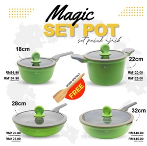 MAGIC SET POT