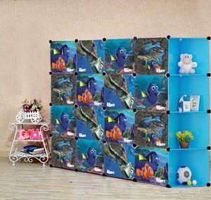 Nemo Blue 16C DIY Cube w Corner Rack (NE16CB)
